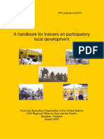 A Handbook for Trainers on Participatory