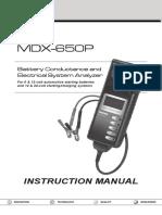 167-024A MDX-650P Instruction Manual Midtroncis En
