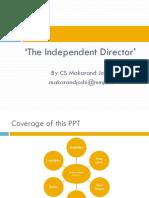 Director independent.pptx
