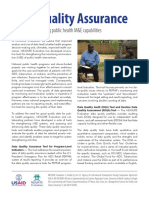 Fact Sheet - Data Quality Assurance -- Fs-06-08