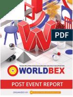 WORLDBEX 2018 Post Event Report Min