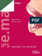 Guide Clinique Des Céramiques