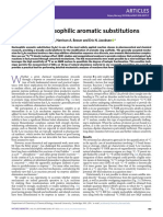 Concerted nucleophilic aromatic substitutions