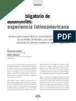 Seguro Obligatorio de Automoviles Experiencia Latinoamericana
