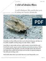 How to get rid of drain flies naturally | MNN - Mother Nature Network.pdf