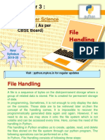 Data File Handling Notes