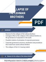 Collapse of the Lehman Brothers_CASE STUDY