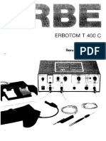 Erbe T400 - Service Manual