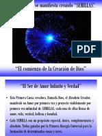 El Big Bang originado por El Creador del Universo, DIOS