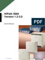 Siemens HiPath 3000 Service Manual