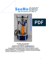 SeemeCNC Orion Delta User Manual