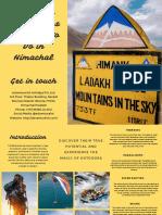 Incredible Adventurous Activities to Do in Himachal