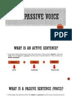 Passive voive