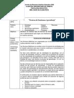 Tecnicas de Aprendizaje Mauricio Damián Fernández Ibarra