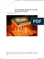 AMD Presenta Procesador Ryzen de 12 Núcleos a La Mitad Del Precio Que Un Core i9 - Caraota Digital