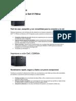 Impresoras Dell y Epson