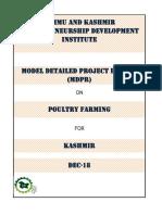Model d Pr for Poultry Farming
