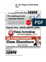 ADVFN Guide_ 101 Ways to Pick S - Clem Chambers.pdf