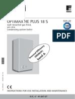 Opti Max He Plus 18 s Manual