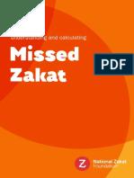 Missed Zakat