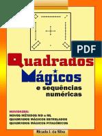 Livro Quadrados Magicos Sequencias Numericas Sumario