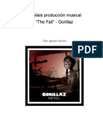 Analisis Producción Musical _the Fall_Gorillaz