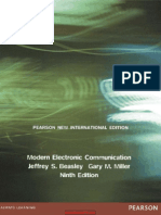 Modern Electronic Communication System 9th edition by beasly and miller