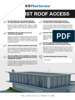 Checklist Roof Access Policy