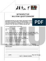 Questionaire About Bullying,