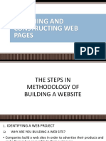 Designing and Constructing Web Pages