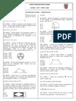 3. Geometria Plana Iic(Exercícios) - 16 06 2017