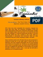 Cannabis in Berkeley
