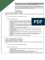 Rai Work Experience Sheet