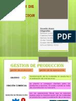 Gestion de La Produccion Mauro