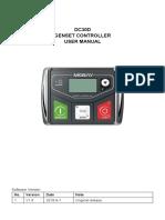 DC30D Genset Controller User Manual V1.0-20181201