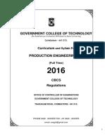 R 2016 CBCS Course Syllabi Production