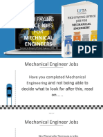 High Paying Office Jobs for Mechanical Engineers