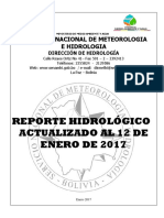 Reporte Hidrologico Senamhi 2017