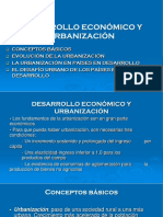 Clase 1b. Desarrollo Económico y Urbanización