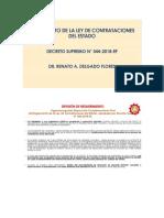 Ley Contrataciones 2019
