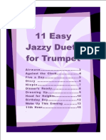 11 Easy Jazzy Duets For Trumpet.pdf