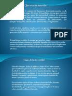 PRINCIPIOS DE LA ELETRICIDAD EN VNZLA