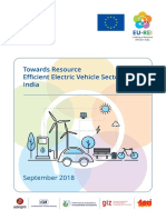 Ev Sector Policy Paper