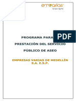 G.operativa Programa Prestación Servici