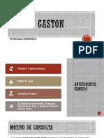 Caso Gaston