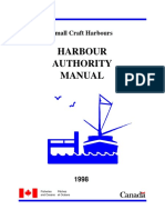 B- Small Craft Harbours (Harbour Authority Manual)