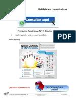 HABILIDADES COMUNICATIVAS PRODUCTO ACADÉMICO N°2
