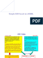 Simple EDI Based on EbXML