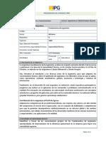 PRA-LU06024 Fundamentos de Ingeniería