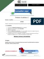 INTRODUCCIÓN A LA INGENIERÍA INDUSTRIAL PRODUCTO ACADÉMICO N°2